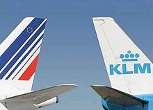 220px Air France  KLM vertical stabilizers